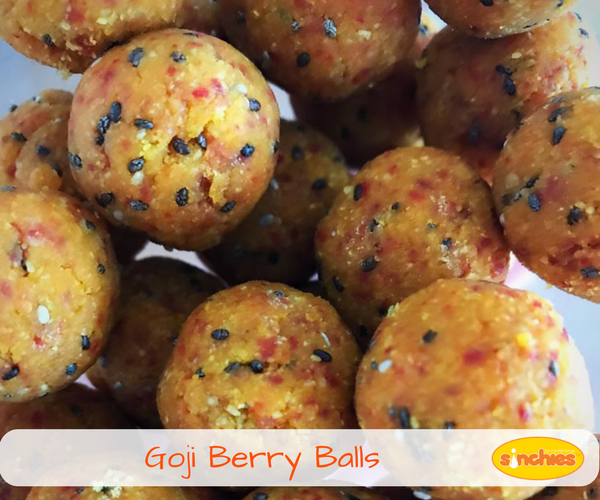 healthy goji berry date balls