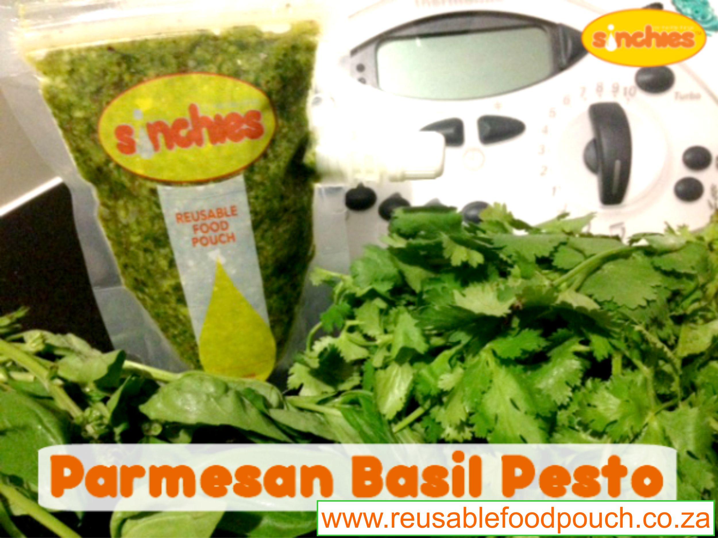 Parmesan Bazil Pesto